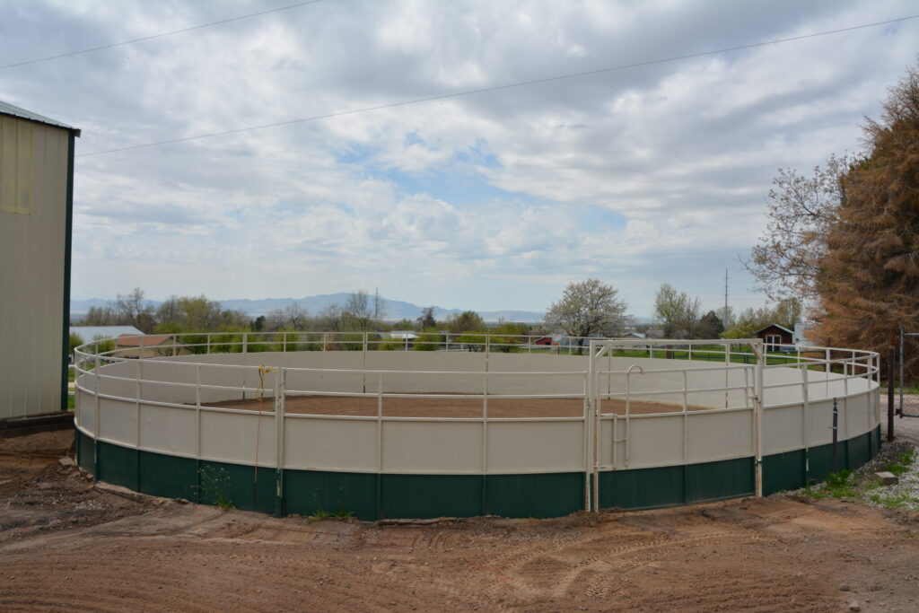 Round Pen at Quarters for Horses